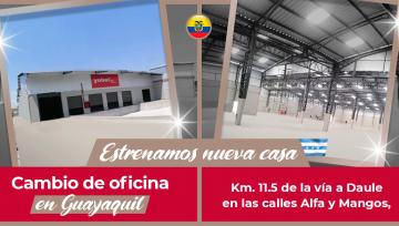 Ampliamos espacio, mejoramos calidad; nueva casa en Yobel SCM Guayaquil.